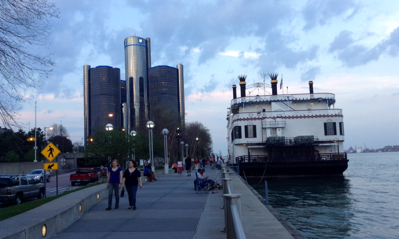 Detroit Riverfront Riverwalk