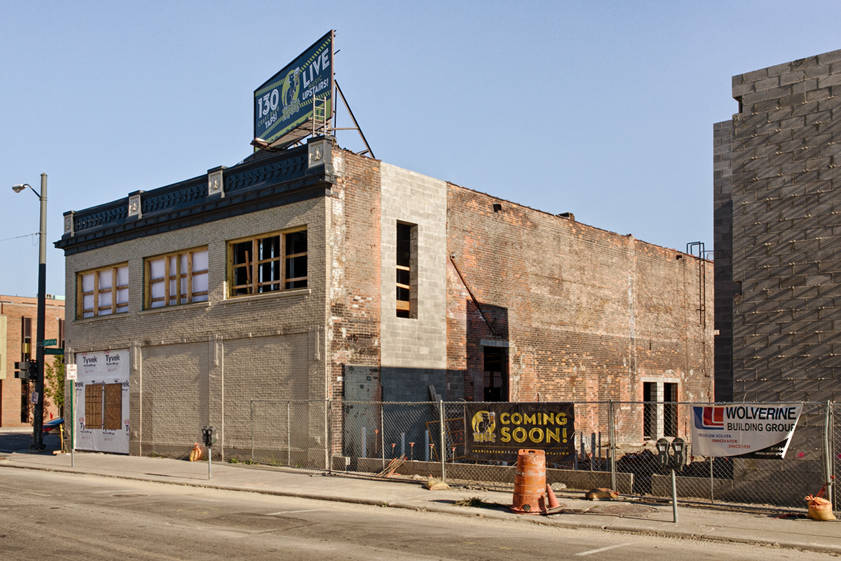 Hopcat Detroit under construction