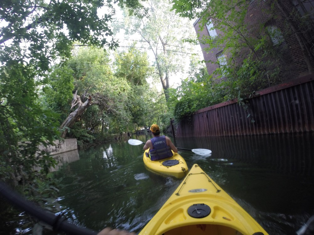 Paddling Back from Jefferson