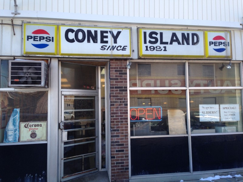 Red Hots Coney Island, in business since 1921. Photo: Patrick McNamara