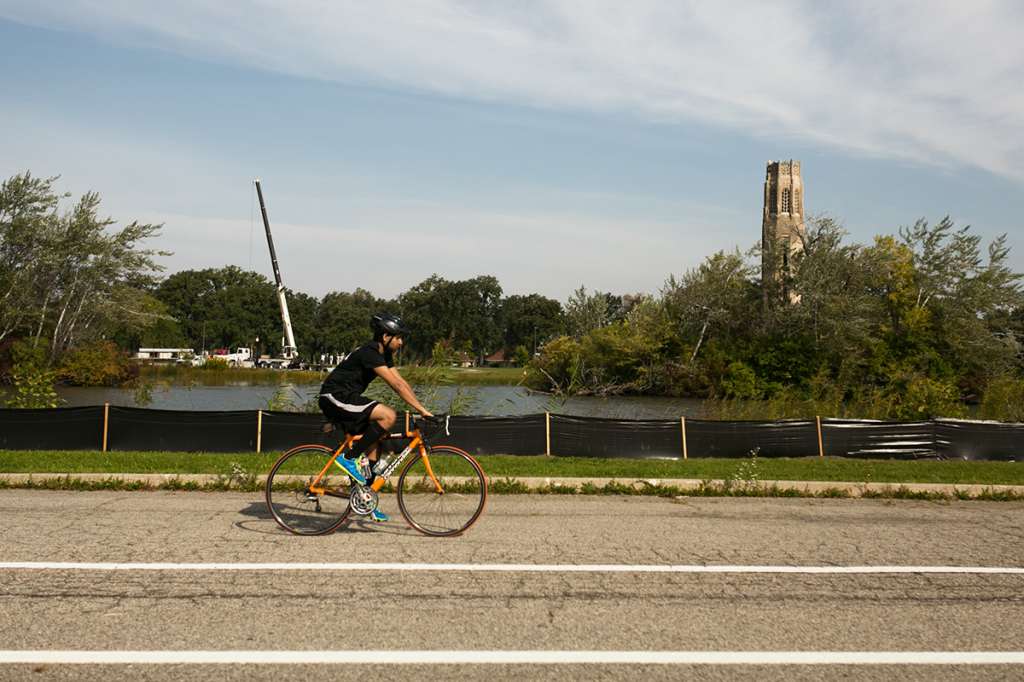 Nick Hagen, Tour de Troit 2014, Tour Detroit, Detroit, Michigan Central Station, Corktown, bicycle, Belle Isle