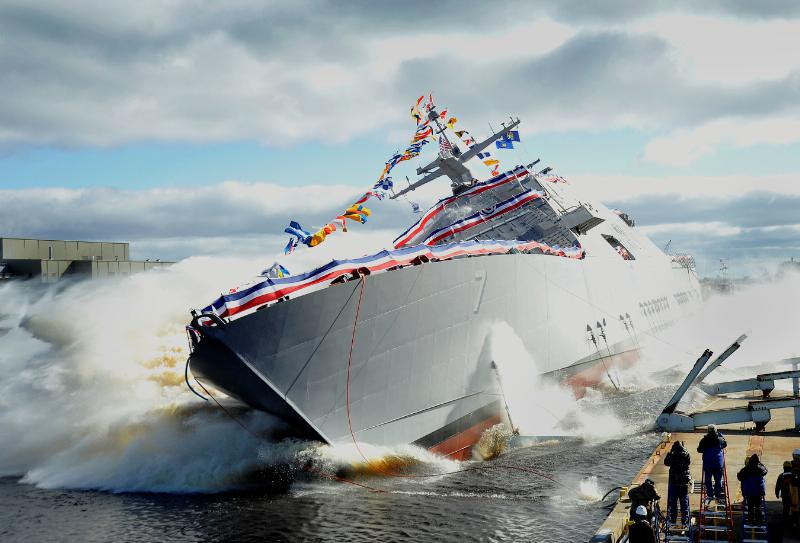 USS Detroit Accepted by Navy