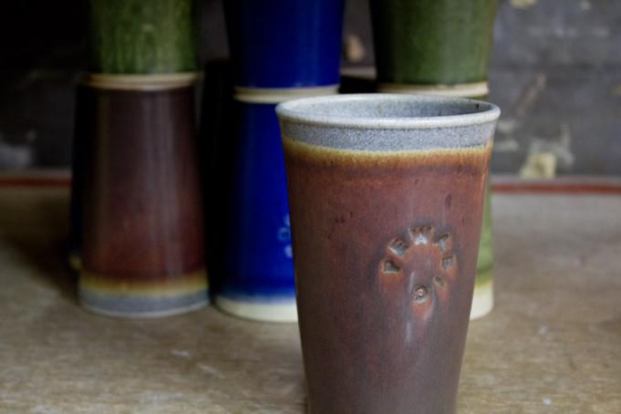 An example of the new Pewabic Pint vessel. Courtesy photo.
