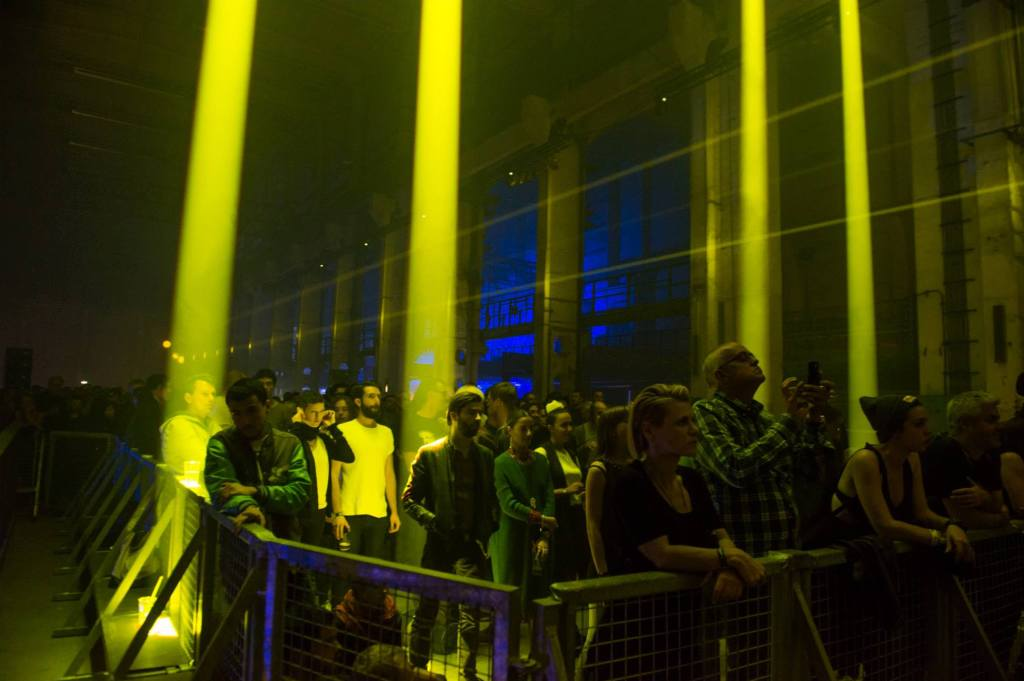 The crowd at Berlin Atonal looks other-worldly