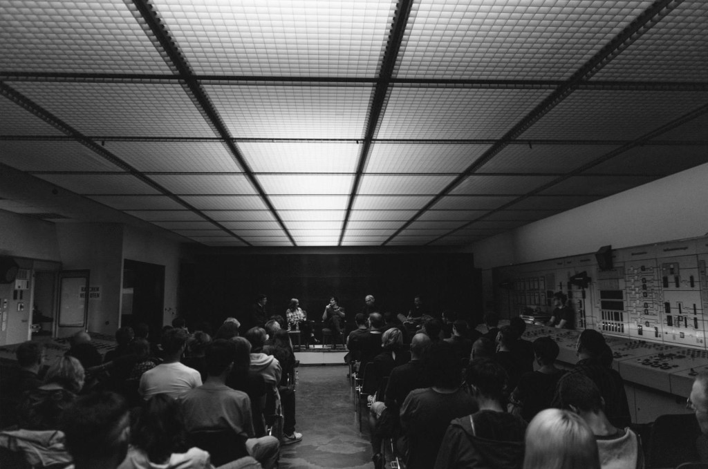 Panel at Atonal Berlin