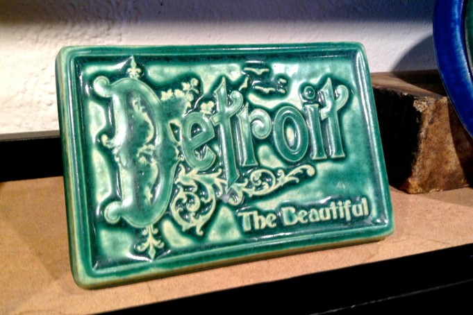 Detroit The Beautiful, available at Pewabic