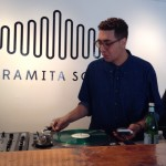 Andrey Douthard at the turntables in the new Paramita Sound
