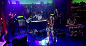 "Jessica Hernandez and the Deltas ""Sorry I Stole Your Man"" on Letterman"