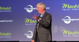 Governor Rick Snyder at Mackinac. Daily Detroit file photo.