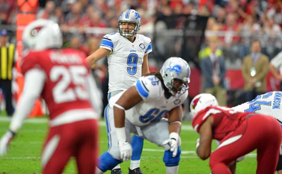 Matt Stafford during the Cardinals game. Courtesy photo.