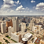 Detroit as viewed from the Rencen. Licensed - Depositphoto, duha127