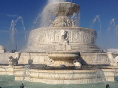 Belle Isle Scott Fountain Detroit