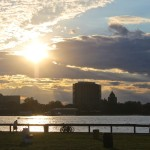The view of Detroit's east side from Belle Isle. (c) Daily Detroit file photo