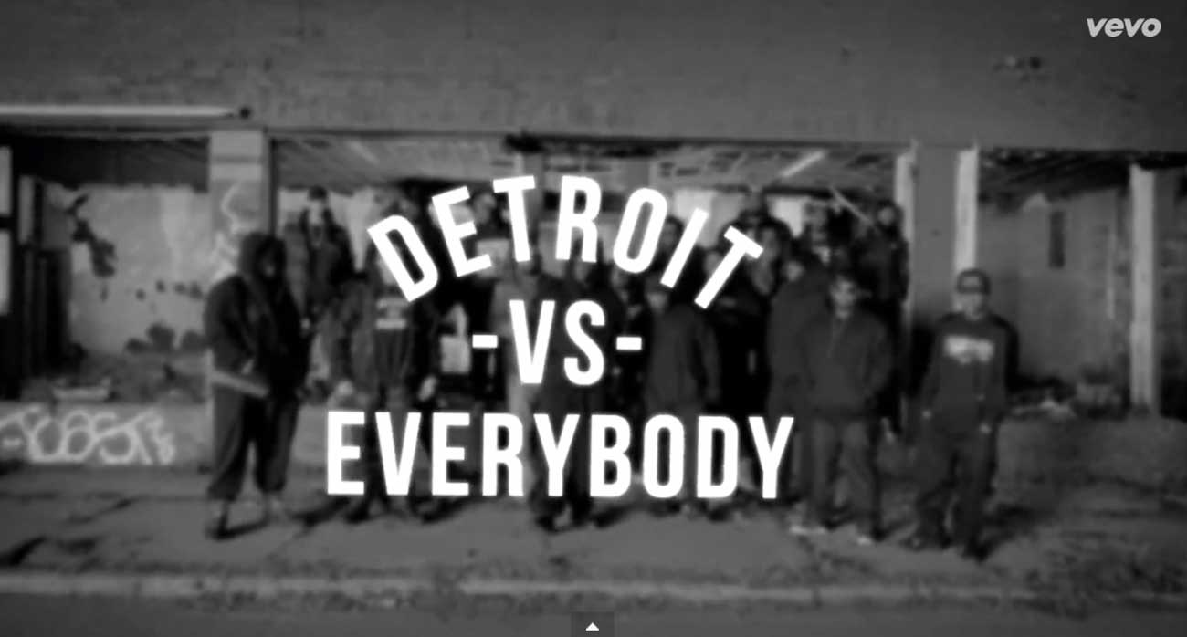 Watch eminem detroit vs. everybody video