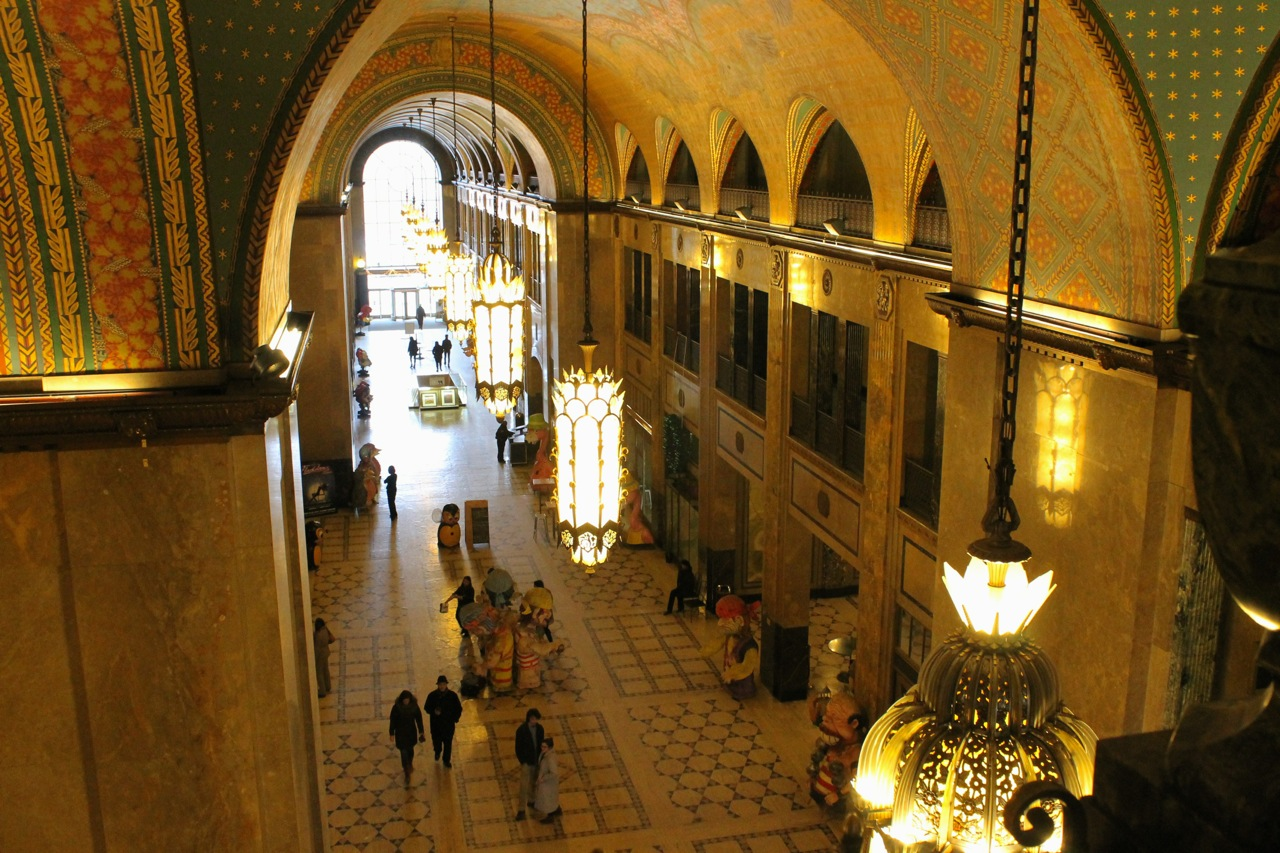 The Fisher Building from the third floor