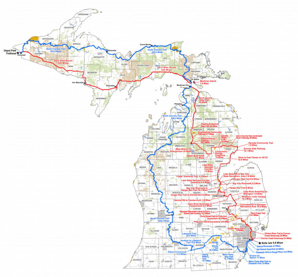 New Statewide Hiking And Biking Trail From Belle Isle To