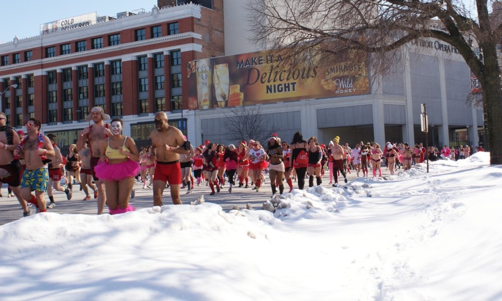 Cupids Undie Run Detroit Valentines Day Gifts Detroit