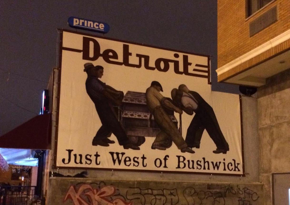 Detroit is the new brooklyn
