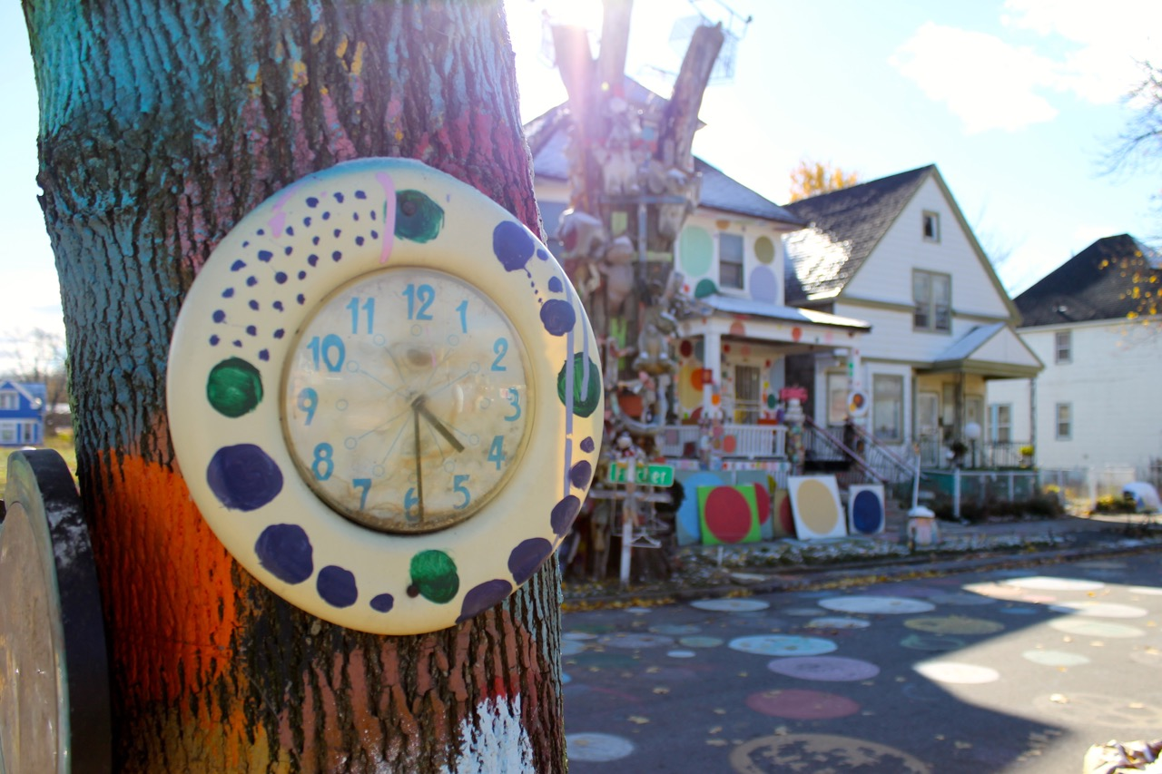 Detroit S Heidelberg Project In Running For Best Art District