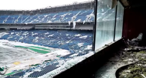 Silverdome Abandoned Video
