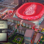 Information shared widely on social media on where to apply for a job building the new Red Wings arena is incorrect. Here's where to go.