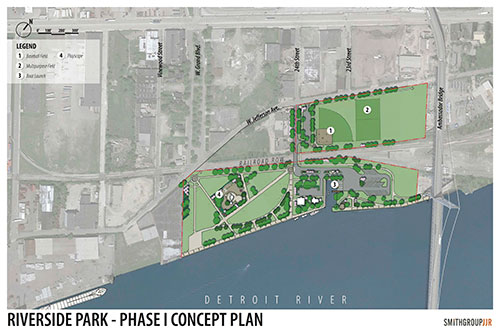 Riverside Park Phase One Improvements