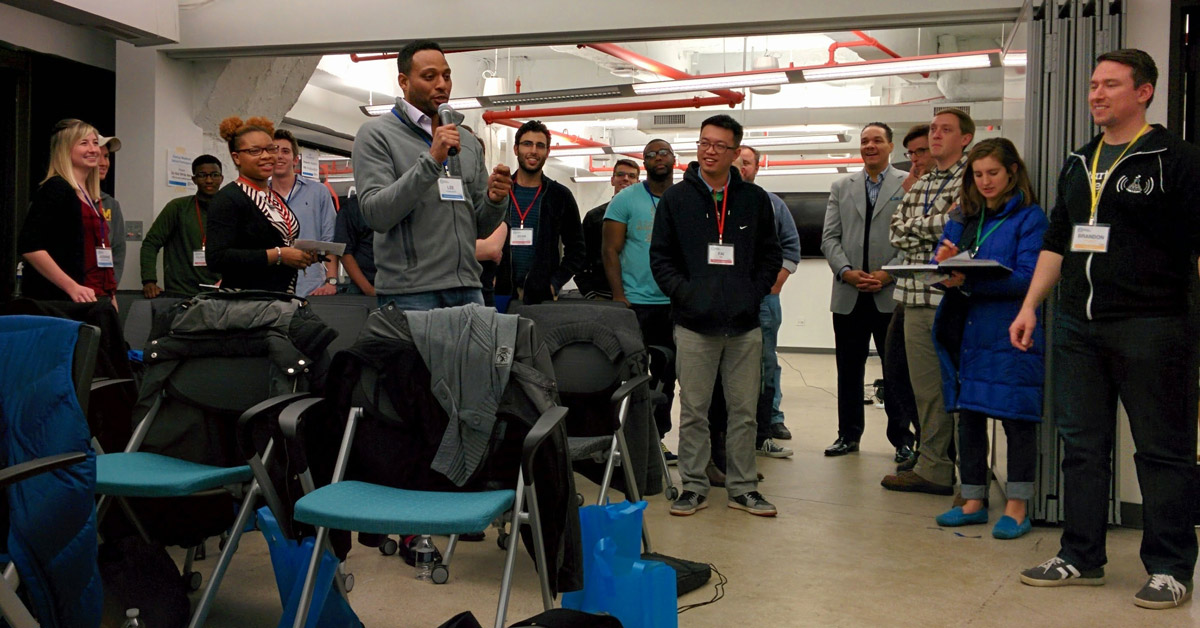 Pitch Fire Exercise at Startup Weekend Detroit 2014