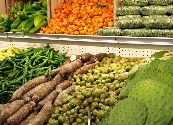 The exotic produce at Honeybee Market in Mexicantown