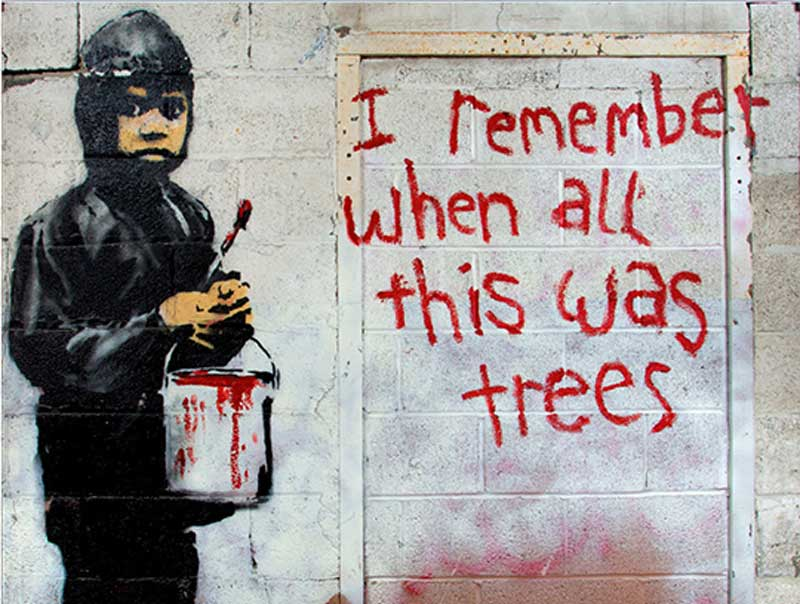 Detroit banksy mural to be on auction in beverly hills for Banksy mural sold
