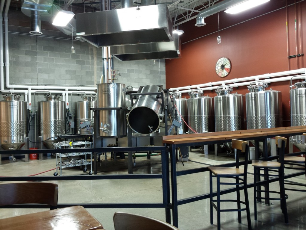 Turning brewing into a show with their open layout.