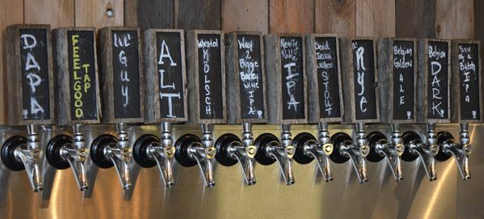 Batch Brewing Company Taps