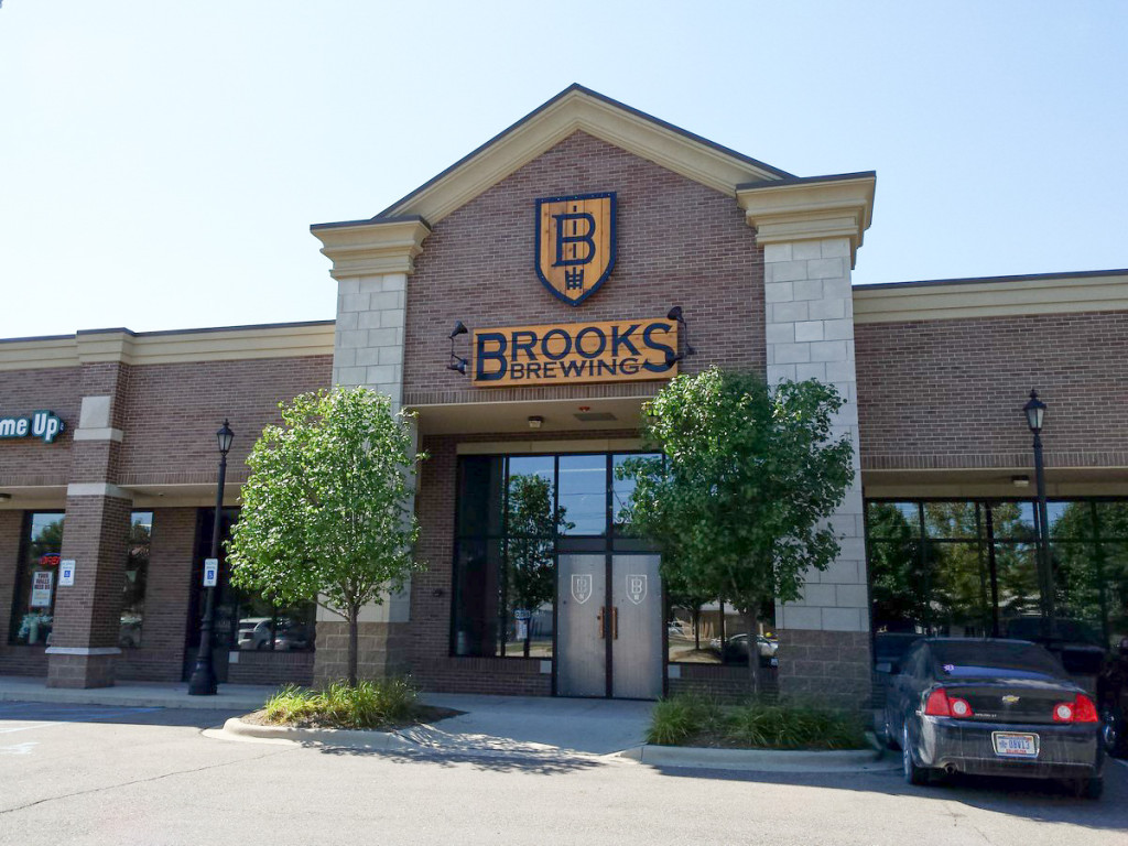 Brooks Brewing Storefront