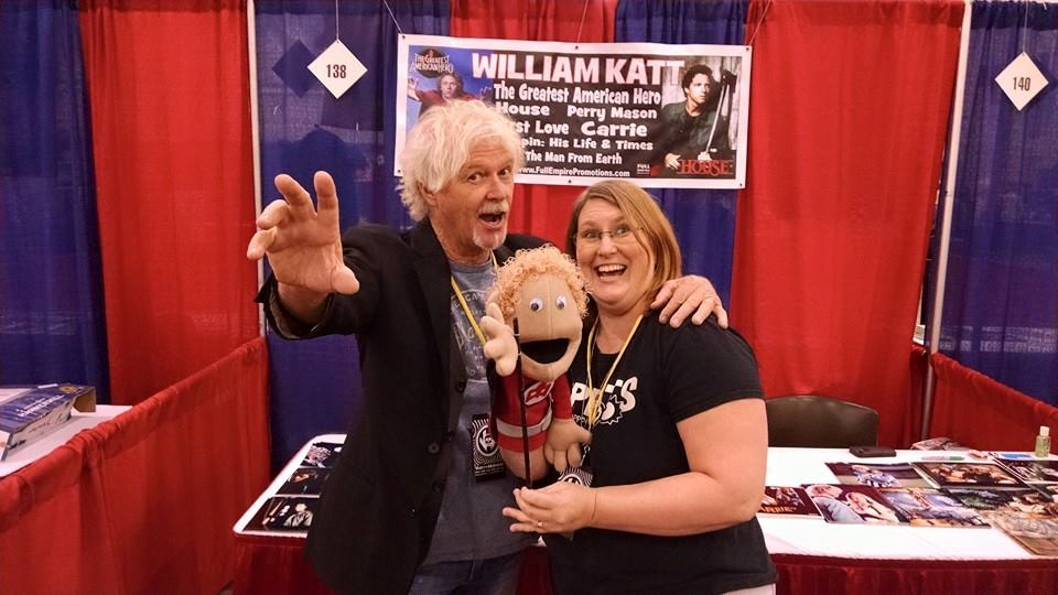 Rebecca and William Katt