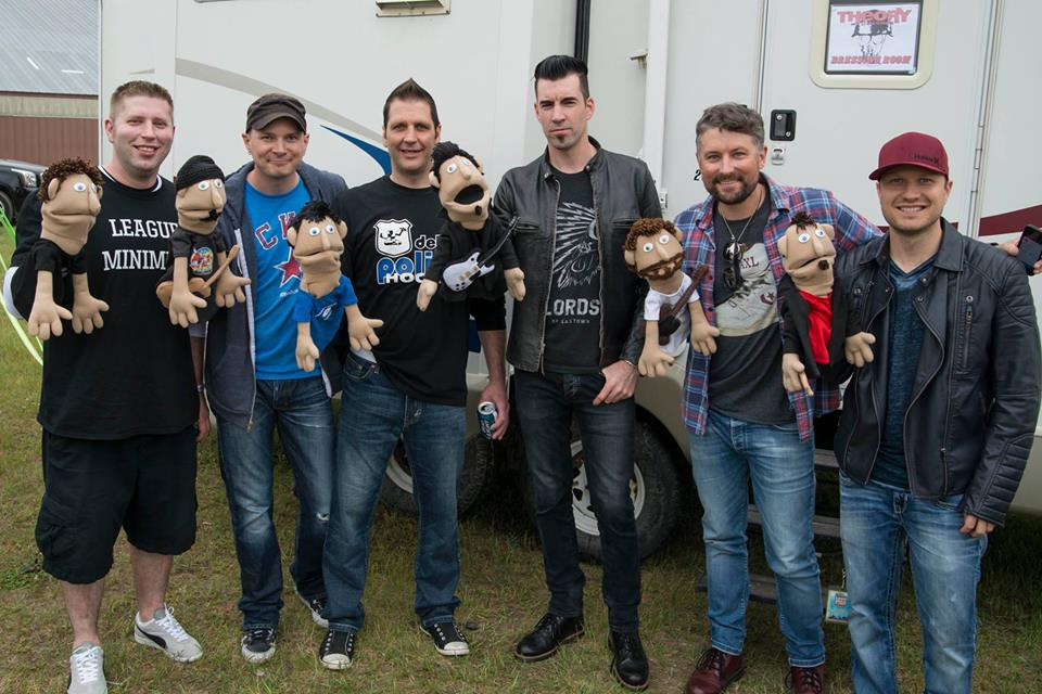 Theory of a Deadman Ruppits commissioned