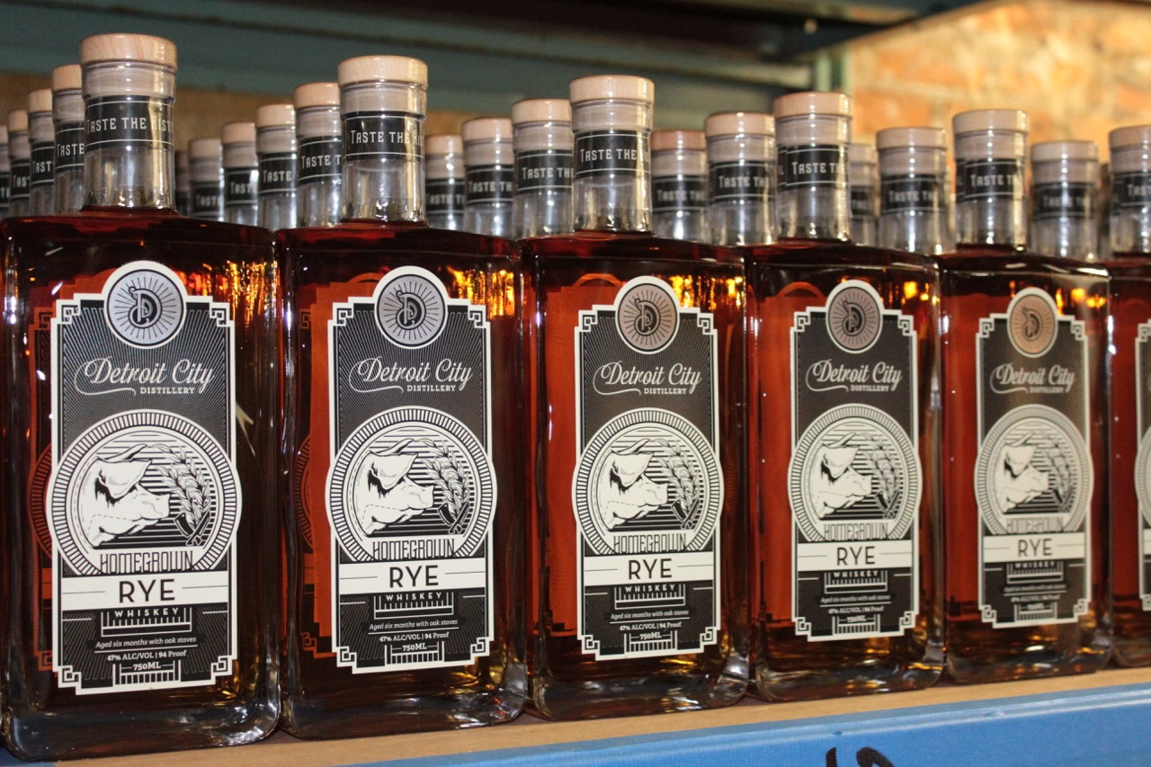 Detroit S Spirits Are On The Rise With New Homegrown Rye