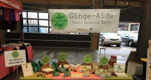 Gingeaide stand in Eastern Market