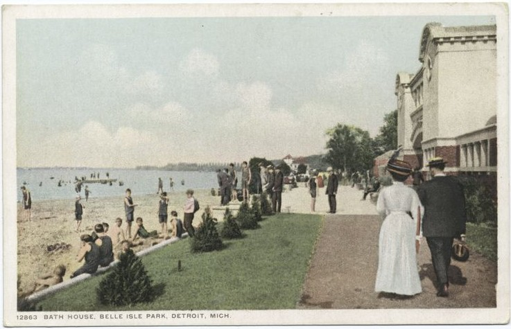 belle isle bath house
