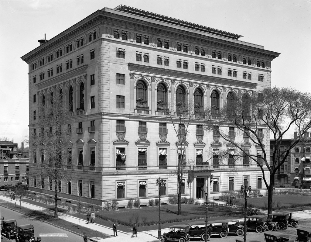 Detroit Athletic Club, 1915