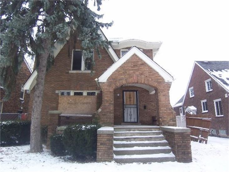 4643 Balfour - Photo via the Detroit Land Bank