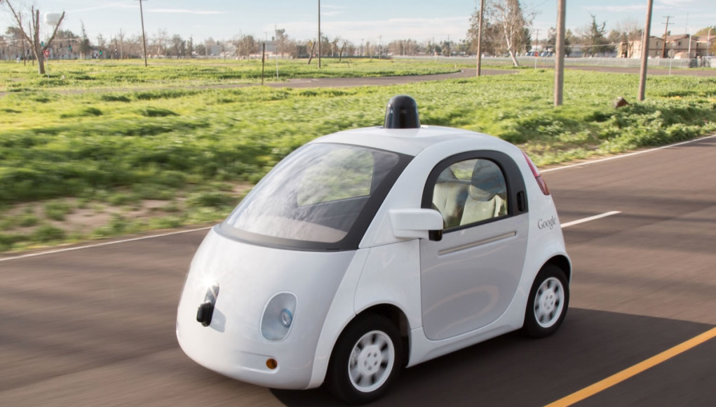 Google's self driving car. Photo Courtesy of Google