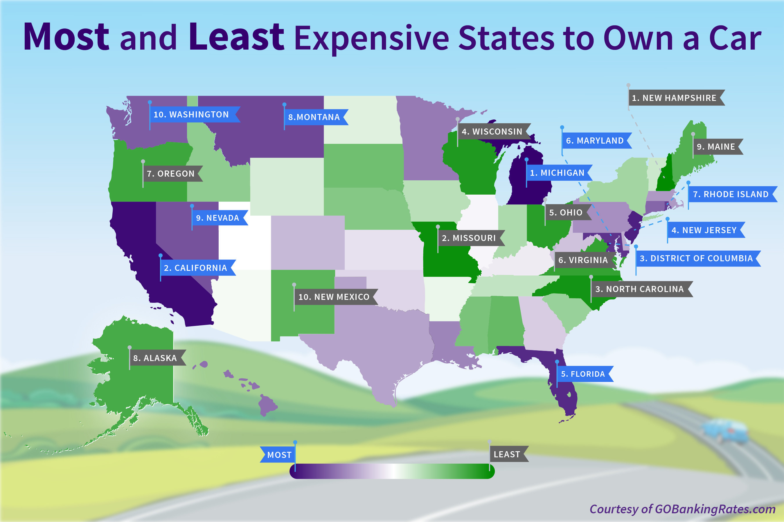 Michigan is the most expensive state in nation to own a for Least expensive house to build