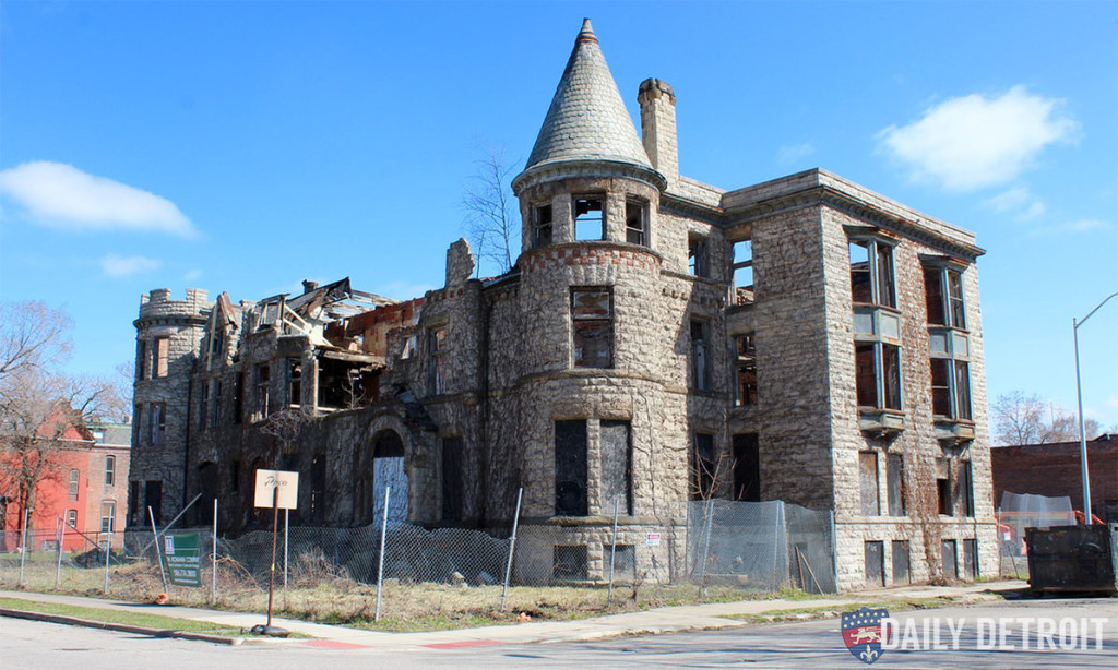 James Scott Mansion at Park and Peterboro.