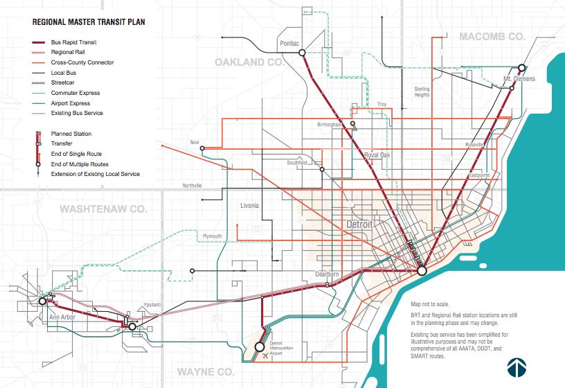 Regional Transit Plan