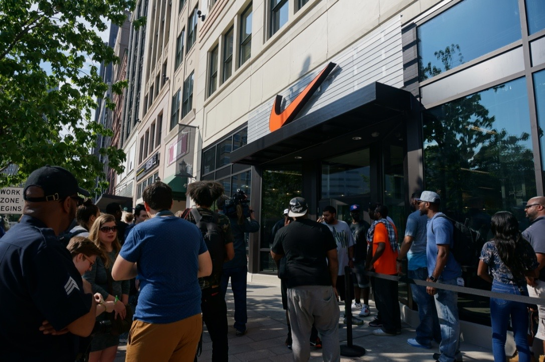 22 Photos Of The Nike Store Opening In Downtown Detroit 2dab6b1e91