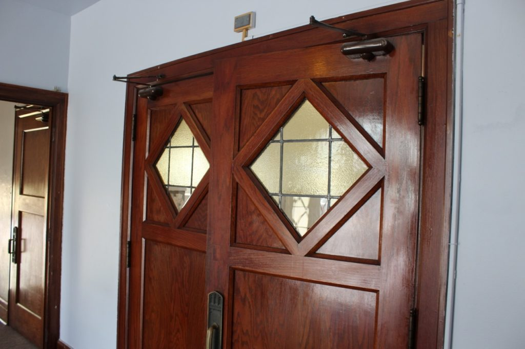 Doors to foyer