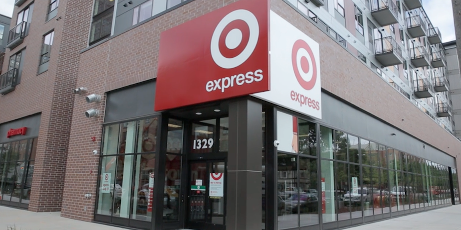 Example of Target Express. Target Corporate Media.