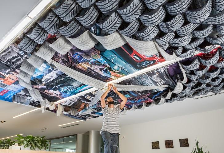 Cranbrook Grad Student Makes Tracks With Art At Mercedes Benz Financial  Services