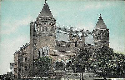 detroit-michigan-museum-of-art-castle-towers-1910-postcard-20f5f8821e4030e10c1e6eb205d013e7