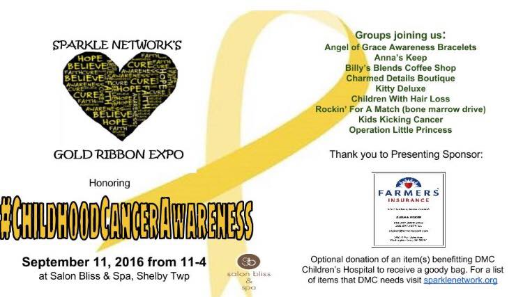 Gold Ribbon Expo Honoring Childhood Cancer Awareness