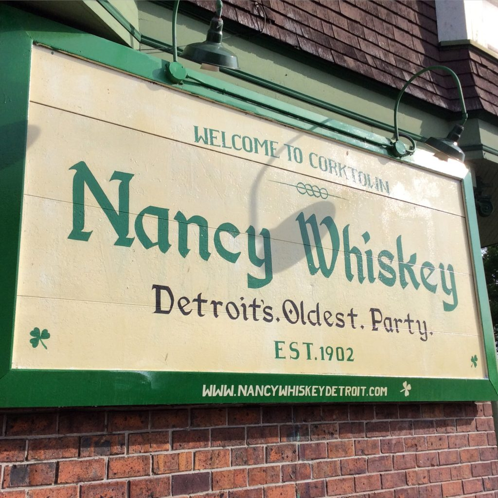 Nancy Whiskey's Dive Bar in Detroit